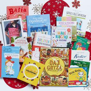 Książki kulinarne dla dzieci to świetny pomysł na prezent pod choinkę.