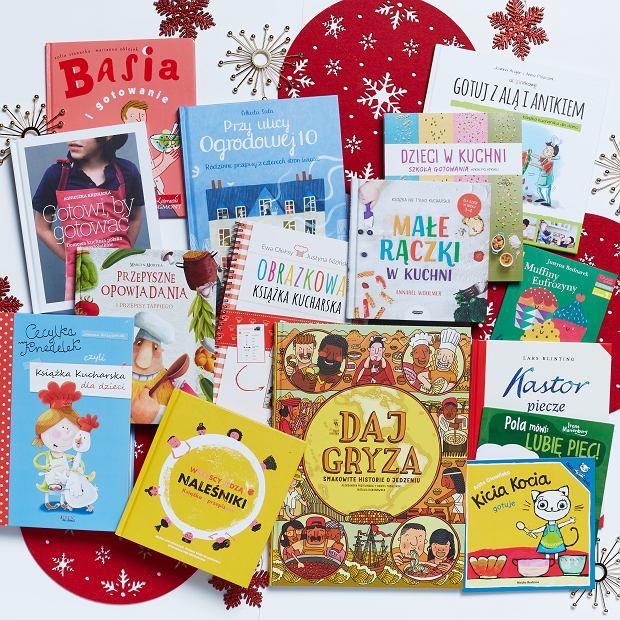 Gotowanie jest fajne, czyli 15 książek kulinarnych dla maluchów, przedszkolaków i szkolniaków