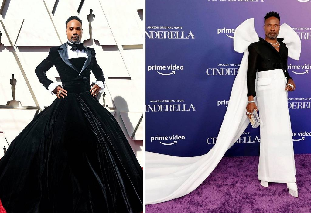 Billy Porter w sukienkach
