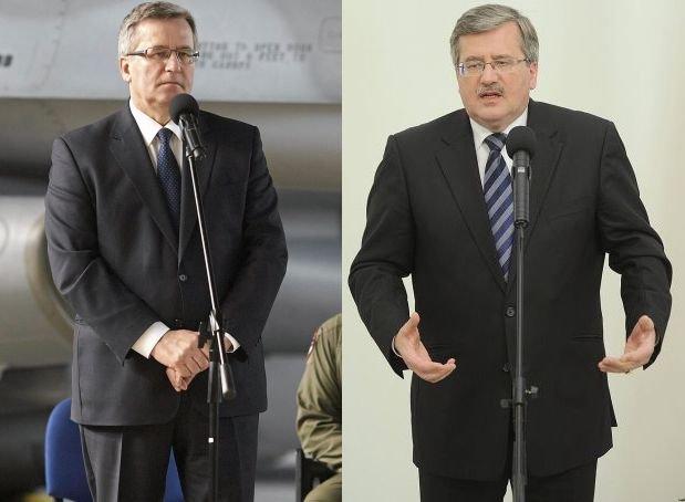 Bronisław Komorowski w 2014 i 2011