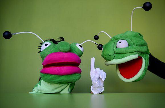 Jasiek i Małgośka, czyli uważaj, robaczku