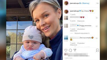 Joanna Krupa pozuje z córeczką