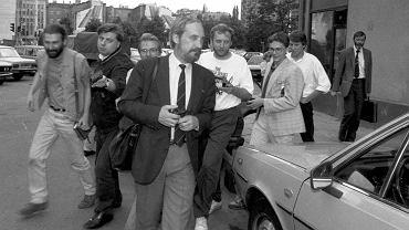 19 lipca 1992 r., na zdjęciu Antoni Macierewicz