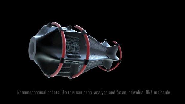 Nanorobot naprawiający DNA