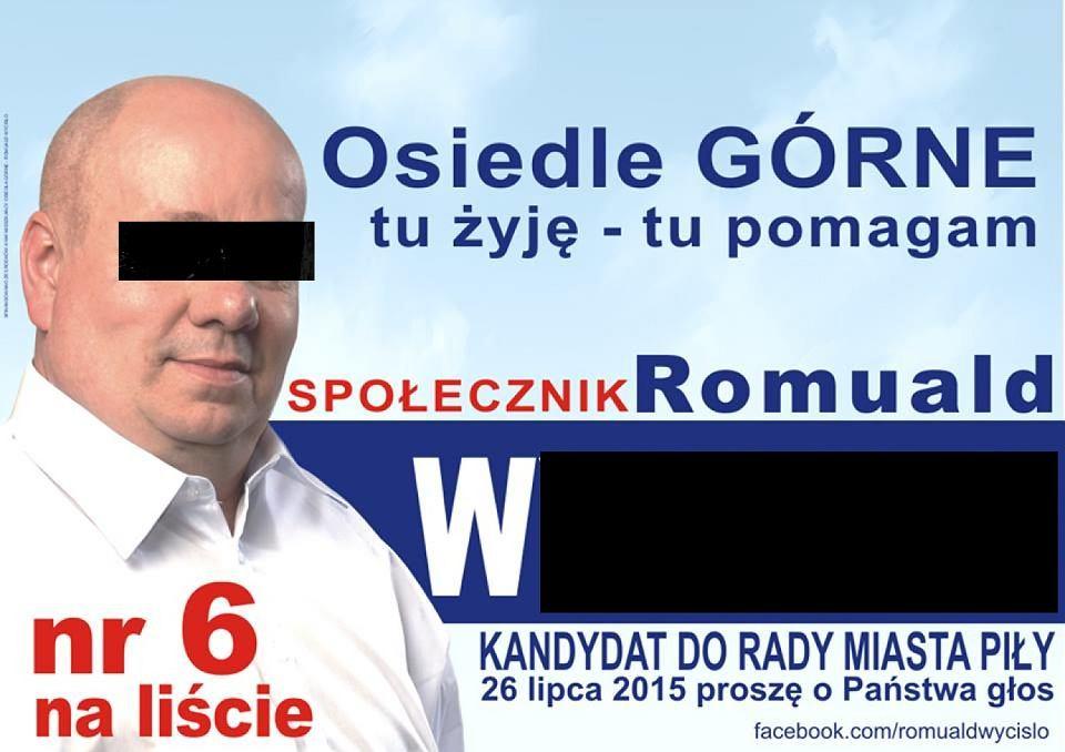 Radny Z Piły Oskarżony O Oszustwo Wyborcze Działał Podstępem