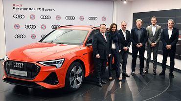 W ramach współpracy Audi i Bayernu Monachium każdy z piłkarzy bawarskiego klubu otrzymał Audi e-tron