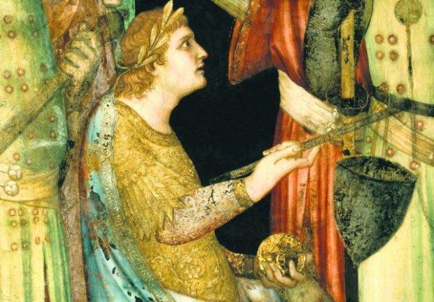 Julian Apostata na XIV-wiecznym fresku Simone Martiniego w kaplicy św. Marcina w Asyżu. Julian, mimo swych błędów, był jednym z najszlachetniejszych i najbardziej utalentowanych ludzi w historii świata - napisał Ernst Stein, znawca późnego antyku, profesor Katolickiego Uniwersytetu w Lowanium. Chrześcijanie przez wieki mieli inne zdanie - nie uważali go za tolerancyjnego władcę, lecz za zdrajcę i tyrana. Z satysfakcją stwierdzali, że cesarzowi nie udało się zatrzymać koła historii