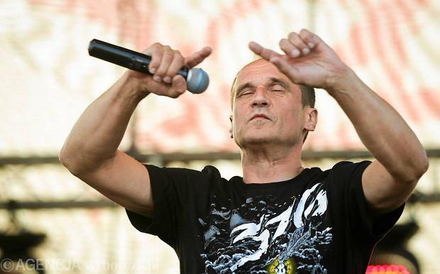 Paweł Kukiz na koncercie w Piotrkowie