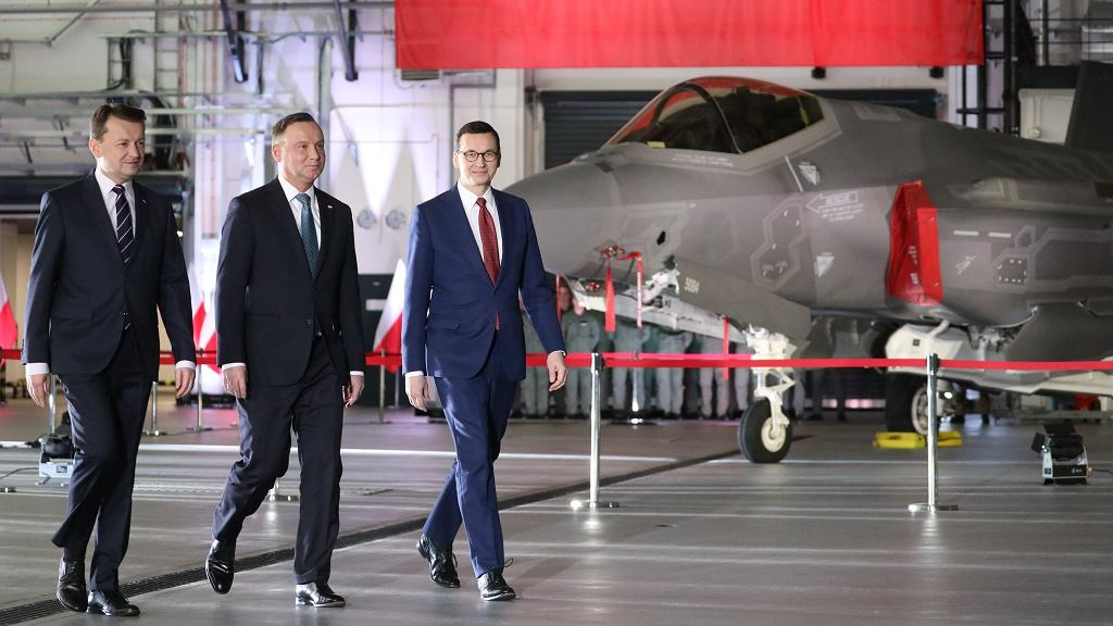 Podpisanie umowy na F-35