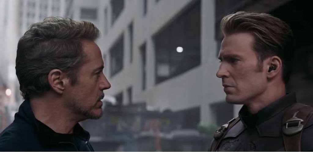 Kadr z nowego spotu 'Avengers: Koniec gry'