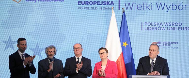Kandydaci Koalicji Europejskiej do Parlamentu Europejskiego [LISTA]