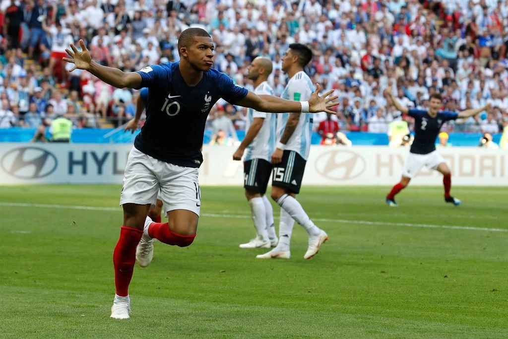 Mecz MŚ Francja Argentyna