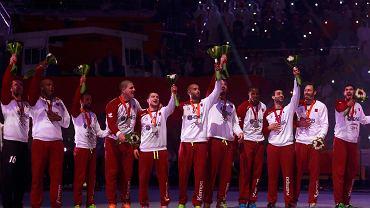 Piłkarze ręczni Kataru z medalami