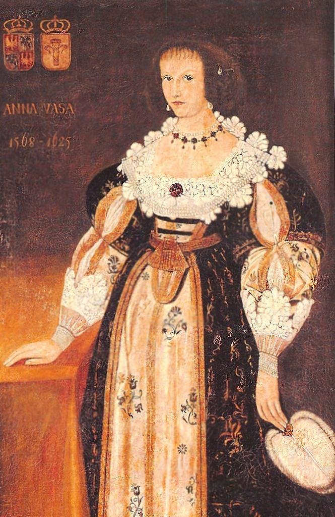 Anna Wazówna / Domena publiczna