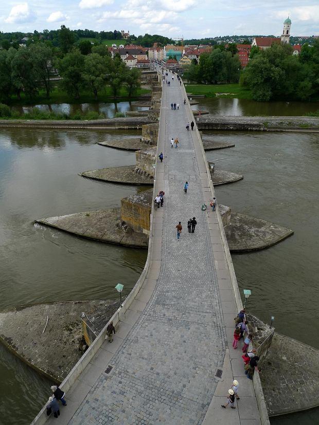 Niemcy Ratyzbona - Most Kamienny w Ratyzbonie fot. John M / Flickr.com CC BY-SA