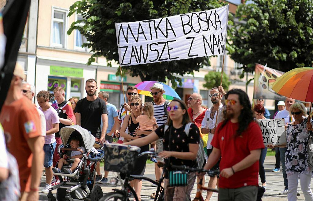 Marsz Równości w Częstochowie. Głos zabrał Joachim Brudziński