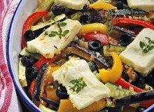 Warzywa zapiekane z fetą - ugotuj
