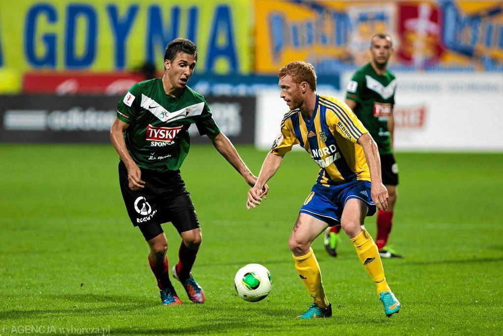 Marcin Radzewicz gra obecnie w GKS Tychy