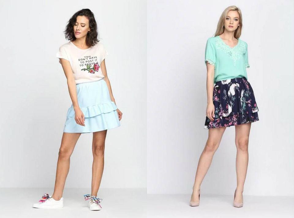 zwiewne spódnice marki born2be