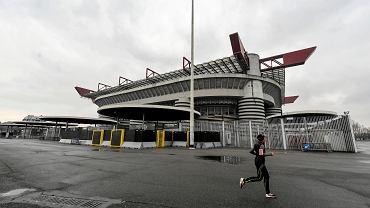 Niedzielny mecz Milan - Genoa rozegrano przy pustych trybunach