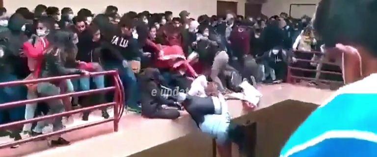 Boliwia. Studenci spadli na uczelni z wysokości 4 piętra. Nie żyje 7 osób