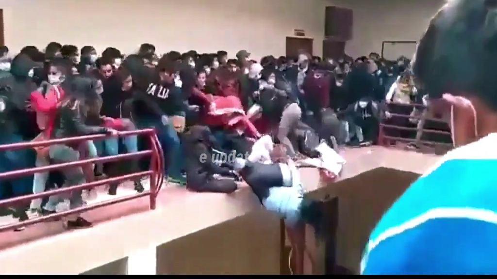 Tragedia na uniwersytecie w Boliwii. Studenci spadli z 4. piętra