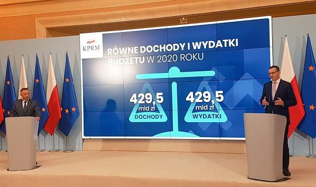 Prezentacja budżetu na rok 2020