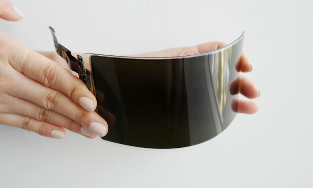 Nowy wytrzymały elastyczny panel OLED od Samsung Display