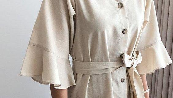 Ubrania z lnu marki Le Monde du Lin 80% taniej. Piękne modele na ciepłe dni