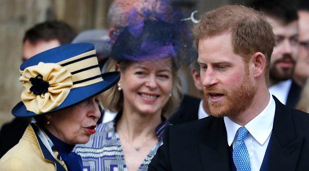 Księżniczka Anna, książę Harry