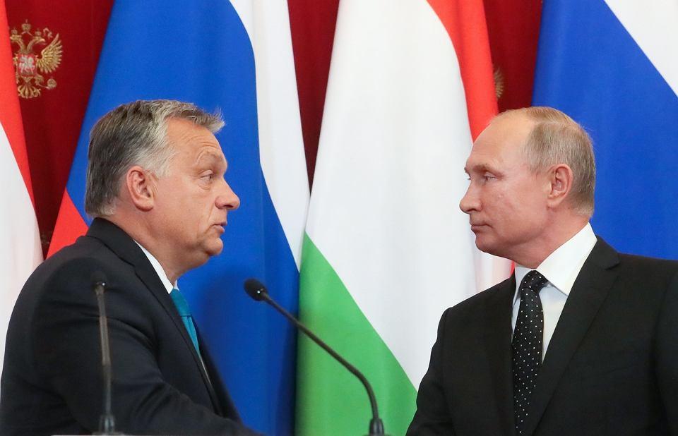 Spotkanie Orbana i Putina na Kremlu