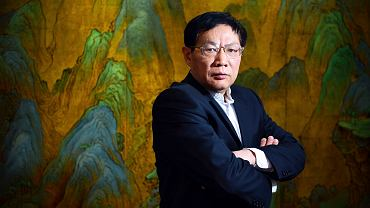 Ren Zhiqiang na zdjęciu z 2012 roku.