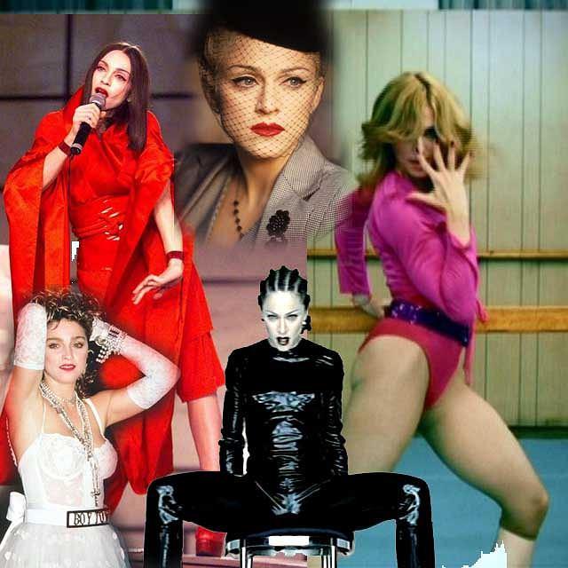 Różne twarze Madonny