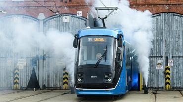 MPK Wrocław. Prezentacja pierwszego tramwaju skoda po remoncie