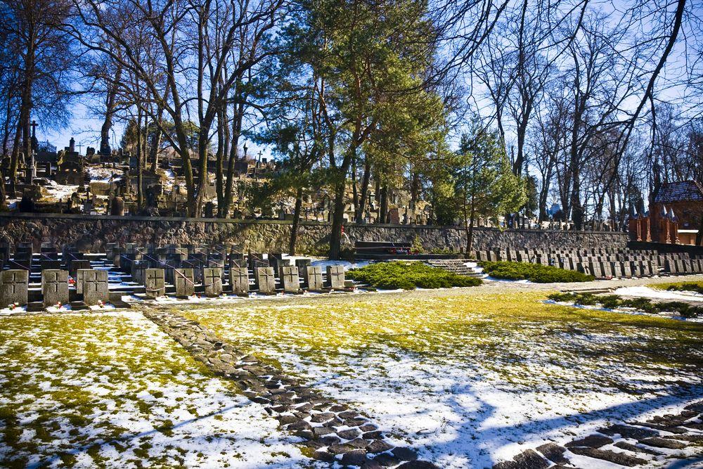 Cmentarz na Rossie w Wilnie, Litwa / fot. Shutterstock