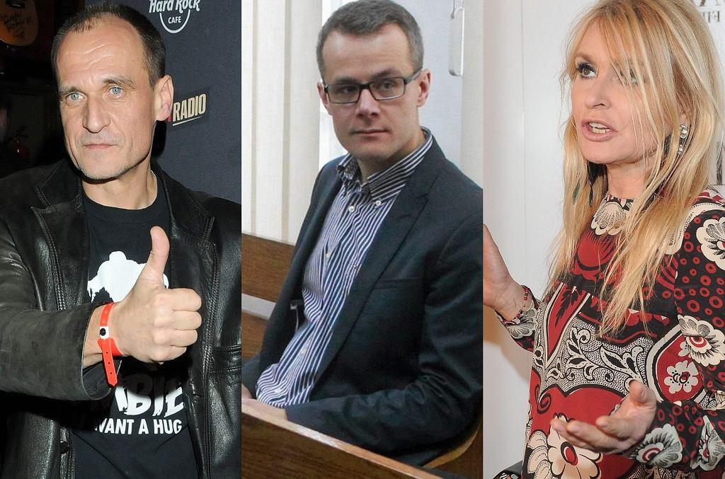 Paweł Kukiz, Jan Pawlicki, Monika Olejnik