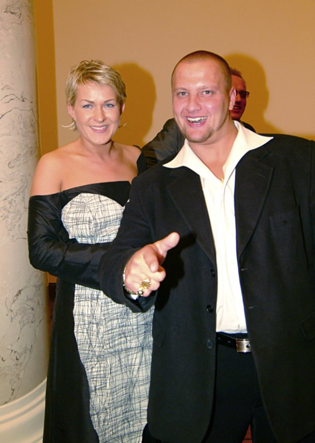 Justyna Majkowska w 2002 roku