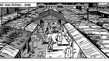 Kadr z komiksu 'Tomuś. Choroba Maliny'