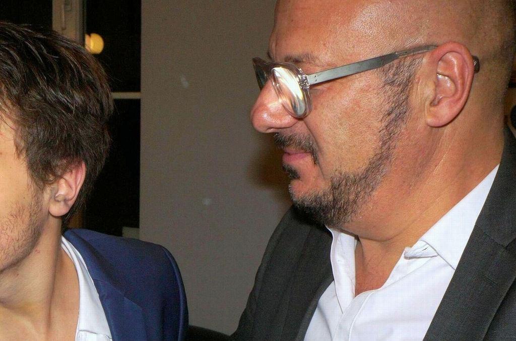 Piotr Gąsowski z synem