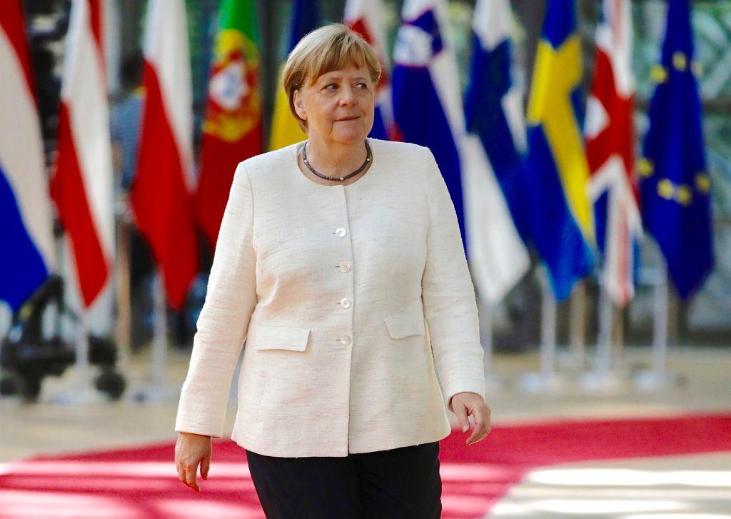 Angela Merkel, Bruksela 2.07.2019
