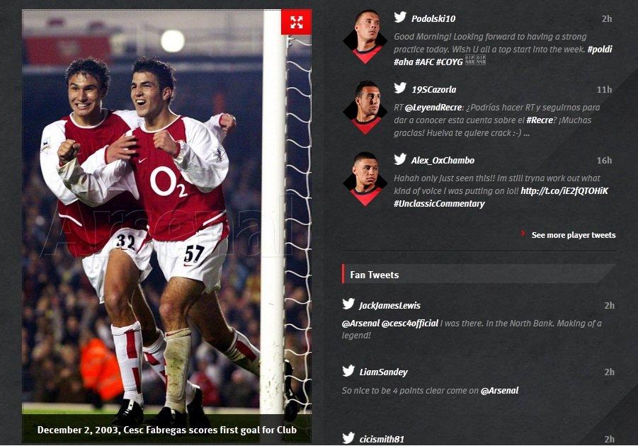 Michał Papadopulos w barwach Arsenalu