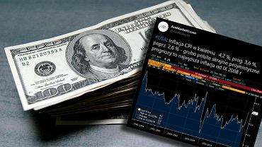 W USA prawie jak w Polsce. Inflacja wystrzeliła najmocniej od 2008 r. Co ze stopami procentowymi?