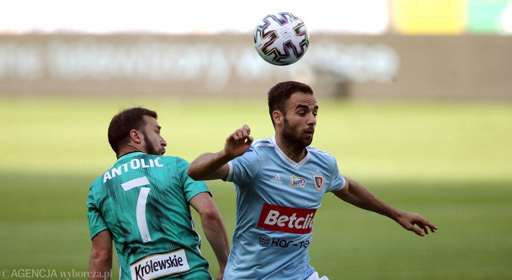 Jorge Felix w meczu Legia - Piast