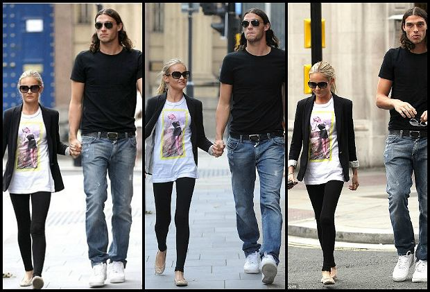 Andy Carroll i Stacey Miller