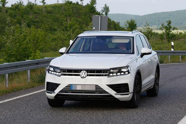 Prototyp VW Touarega 2017