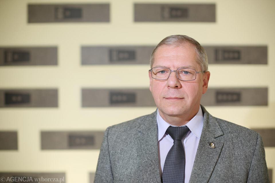 Krzysztof Balcer. Policja w Łodzi