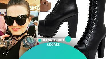 Karolina Opolska i jej buty