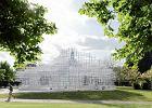 Budynek jak chmura. Sou Fujimoto zaprojektował pawilon Serpentine Gallery