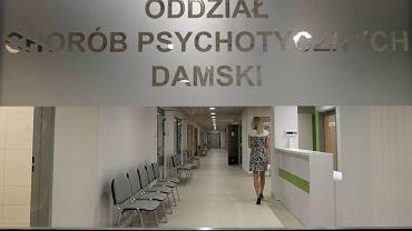 Nowy szpital psychiatryczny przy Szpitalu HCP. Zdjęcie wykonane podczas uroczystego otwarcia