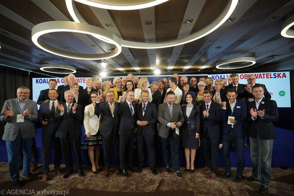 Rada Krajowa PO.